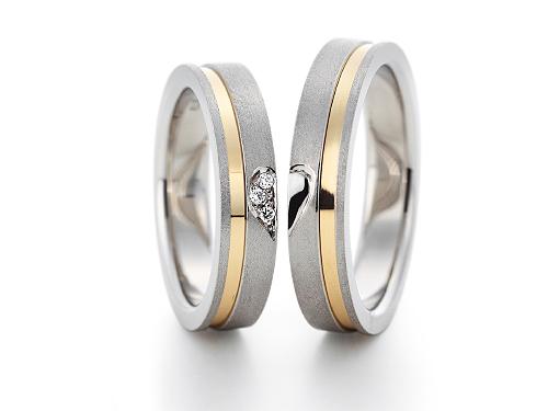 結婚指輪:グラヴィテ GY03702 GY03800