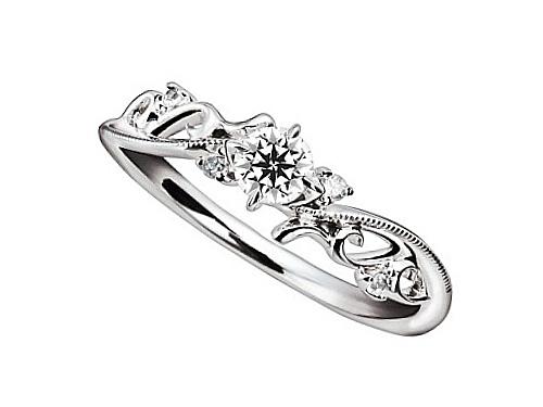 婚約指輪:Ivoire アイヴォアール 03b-0340
