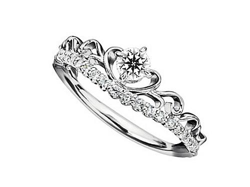 婚約指輪:ROSE Queen ロゼクイーン 03b-0343
