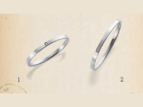 結婚指輪:SUCRE 1,  2