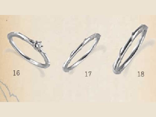 結婚指輪:SUCRE 16, 17, 18