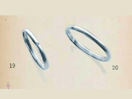 結婚指輪:SUCRE 19, 20