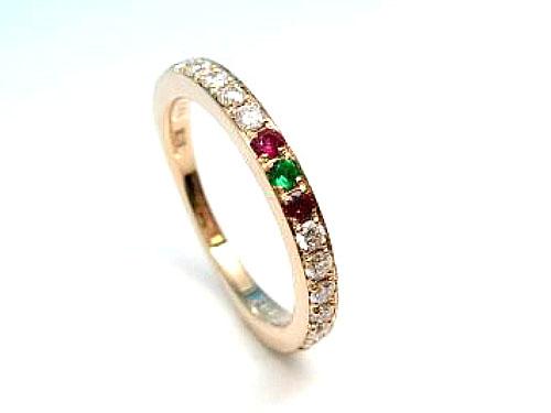 結婚指輪 フルオーダーメイド 鋳造 01