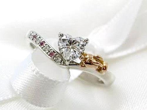 婚約指輪 フルオーダーメイド 鋳造 01