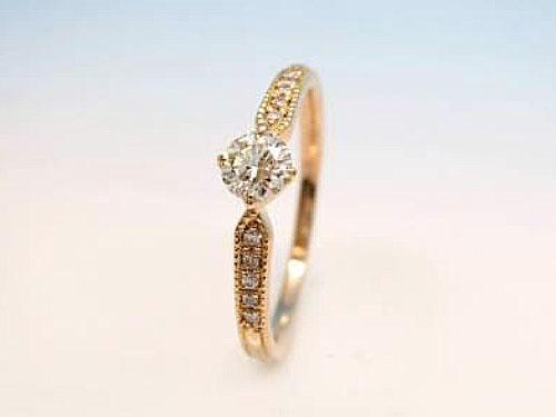 婚約指輪 フルオーダーメイド 鋳造 02