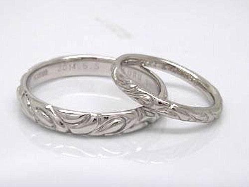 結婚指輪 フルオーダーメイド 鋳造 11