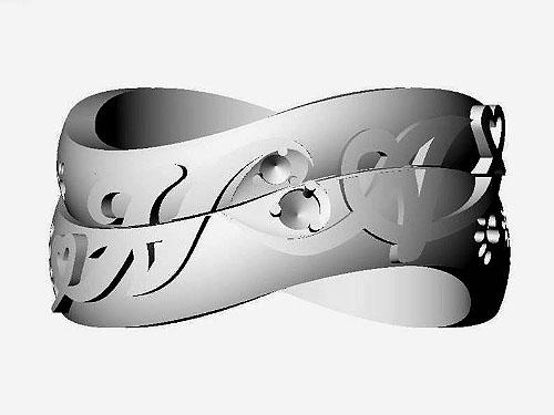 結婚指輪 フルオーダーメイド 鋳造 14