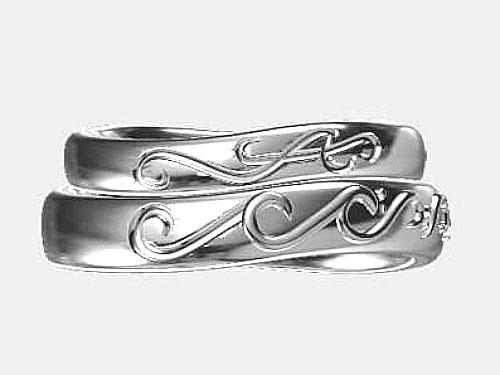 結婚指輪 フルオーダーメイド 鋳造 15