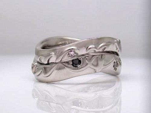 結婚指輪 フルオーダーメイド 鋳造 03