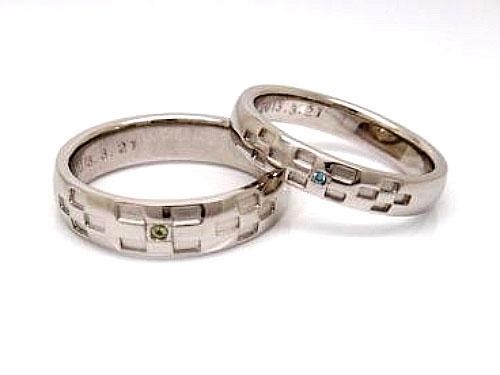 結婚指輪 フルオーダーメイド 鋳造 02