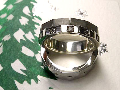 結婚指輪 フルオーダーメイド 鋳造 17