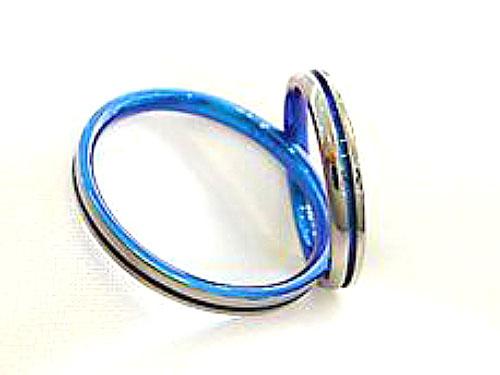 結婚指輪 チタン製 02