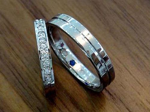 結婚指輪 フルオーダーメイド 鍛造 02