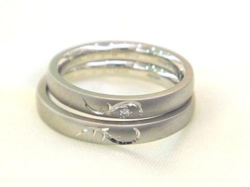 結婚指輪 フルオーダーメイド 鍛造 04