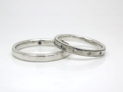 結婚指輪 フルール FL_G-M