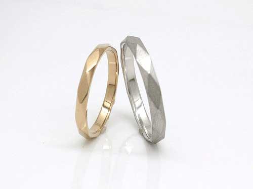 30:福岡で安い結婚指輪フルール K18 PG ¥64,692- WG ¥75,816-