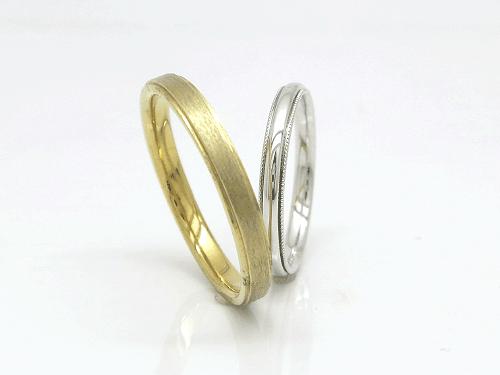 結婚指輪 フルール FL_J-M ¥154,656〜 / ペア
