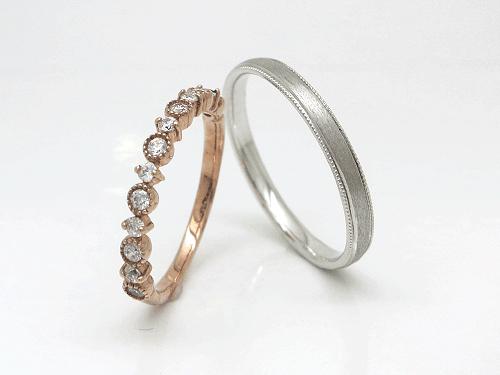 結婚指輪 フルール FL_K-M