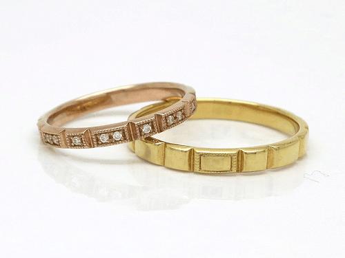 結婚指輪 フルール FL_L-M