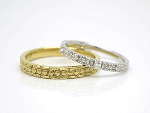 結婚指輪 フルール FL_M-M
