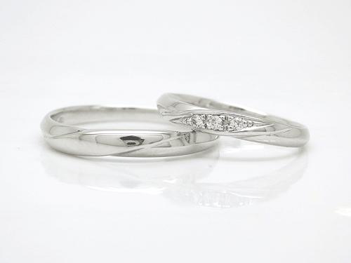 結婚指輪 プール トゥジュール P:15-2069,70 ¥153,900〜 / ペア