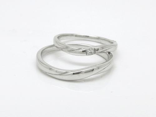結婚指輪 プール トゥジュールR:下 15-2118(M)   ¥74.304- 上 15-2117(L)   ¥79.645-
