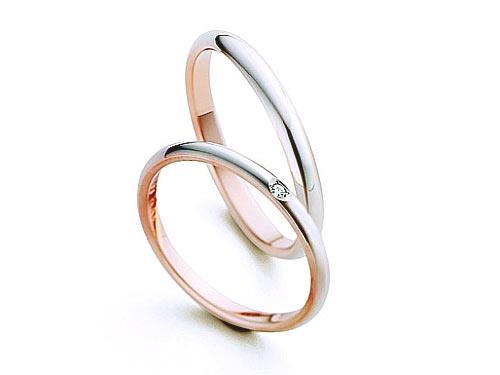 20:福岡で安い結婚指輪 マリ・エ・マリ 上:¥56,160- 下:¥49,680-