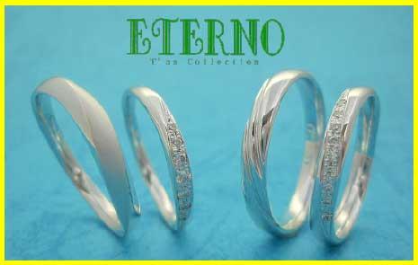 新素材スノーホワイトパラジウムPd900を使用した エテルノ