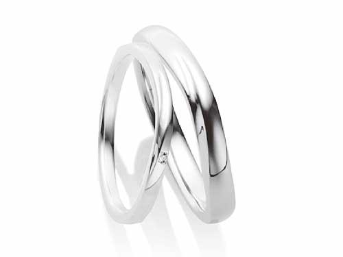 27:福岡で結婚指輪が安いファーストインテンション Pt505 左:Diamond ¥51,840- 右:¥62,640-