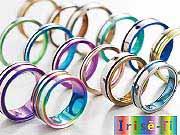 結婚指輪ブランド 金属アレルギーにおすすめ チタン マリッジリング アイリス-Ti