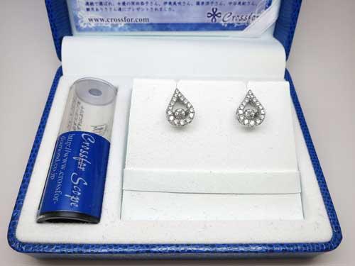 NYE-106 Twinkle Tear ピアス ¥16,200-