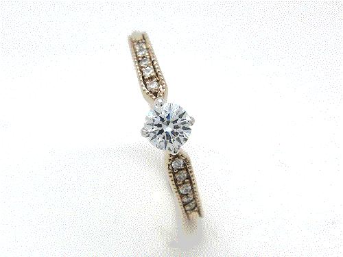 婚約指輪 YM-LV-GAE WD×10 ¥150,984-