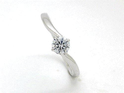 婚約指輪:結心 ハードPt900 0.2ct ¥118,584-