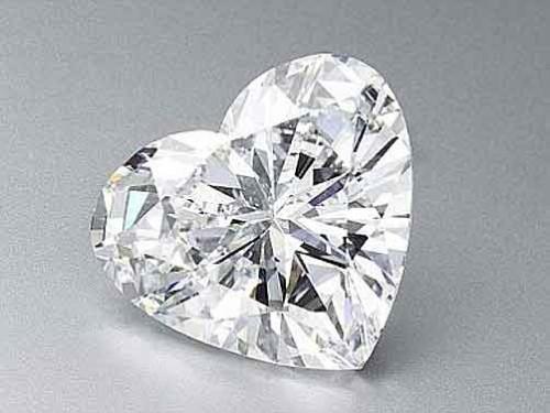 ハート型のダイヤモンド